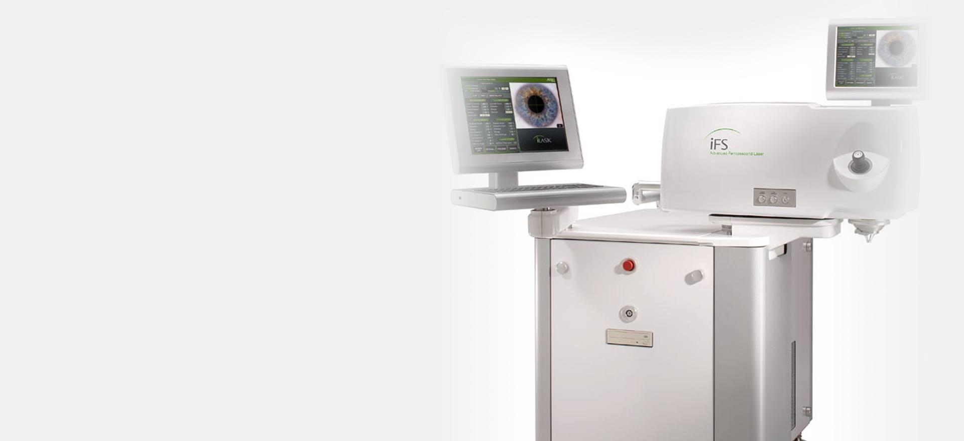 Unsere Laser im Augenlaserzentrum VS-Villingen